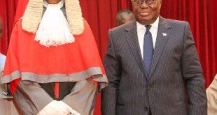 New CJ Sophia and Prez Akufo-Addo