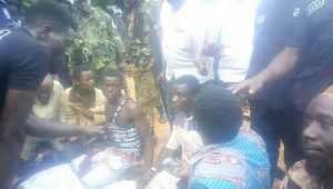 Suspects wee smokers rounded by Military and Police