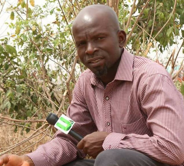 Alhassan Abdul Wahseed , (the attacked UTV Reporter)